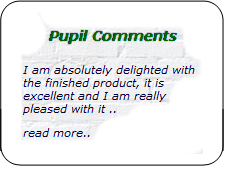 pupil comments